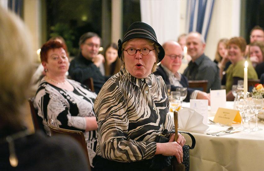 Münsterländer Leichenschmaus: Das Krimi-Dinner.